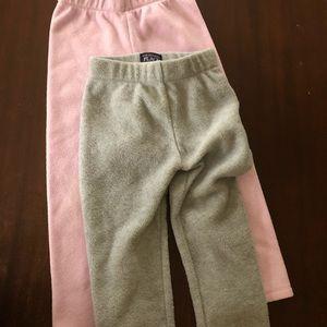 Girls 5T fleece pants NWOT